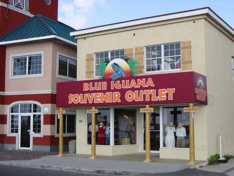 Grand Cayman Shopping At The Blue Iguana Souvenir Outlet