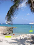 Grand Cayman Snorkeling Site George Town Wreck of the Cali