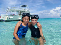 Cayman Islands Stingray city Sandbar!