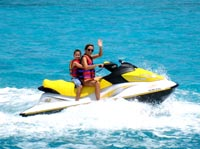 The cayman waverunner tour is perfect for all ages