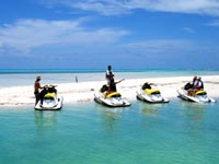 The Rum Point sandbar in grand cayman